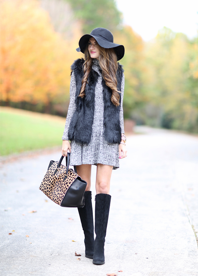 floppy hat fall outfit